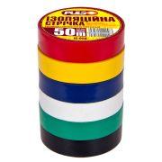 ELIT UNIIC50ASC Изолента PULSO PVC 50м ассорти (выписывается только по 10 шт)