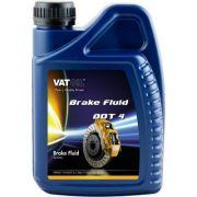 VAT VATDOT4 Тормозная жидкость VATOIL DOT SAE J 1703, FMVSS DOT 4