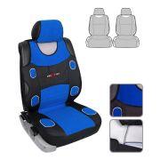 Чохли на сидіння MILEX Prestige, синій. Комплект: 2 передні, 2 задні, 5 для підголівників