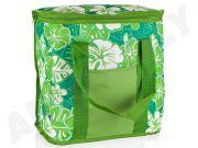 CARFACE DOVP50ML1084AGF Рефрижераторный мешок, содержание 20 L, декор G - Green с сине-зелеными цветами, современный вид.