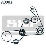 SKF  Поликлиновой ременный комплект