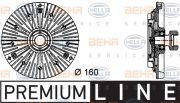 HELLA 8MV376732441 Вентилятор (комплект)