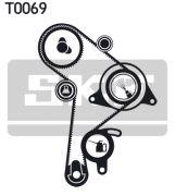 SKF VKMA01016 Комплект ремня ГРМ