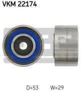 SKF VKM22174 Паразитный / Ведущий ролик, зубчатый ремень