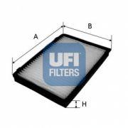 UFI 5315100 Фильтр, воздух во внутренном пространстве