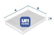 UFI  Фильтр, воздух во внутренном пространстве