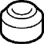 Elring  Прокладка, болт крышка головки цилиндра