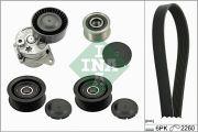 INA 529013810 Поликлиновой ременный комплект