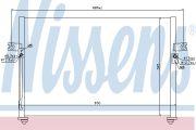 NISS  Конденсер HY GRACE(93-)2.4(+)[OE 97606-4A000]