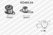 SNR SNRKD45504 Комплект ремня ГРМ