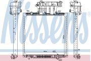 Nissens  Радиатор MAN TG-A(02-)(+)[OE 81.06101.6482]