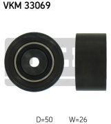 SKF VKM33069 Паразитный / ведущий ролик, поликлиновой ремень