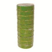 HPX HPXIE1910 Лента ПВХ изоляционная 19х10мм желто/зеленая