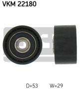 SKF VKM22180 Паразитный / Ведущий ролик, зубчатый ремень