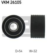 SKF VKM26105 Паразитный / Ведущий ролик, зубчатый ремень