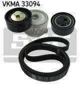 SKF VKMA33094 Поликлиновой ременный комплект