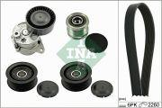 INA 529014010 Поликлиновой ременный комплект