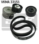 SKF VKMA33151 Поликлиновой ременный комплект