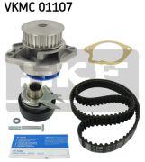 SKF VKMC01107 Водяной насос + комплект зубчатого ремня