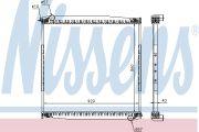 NISSENS NIS640690 Радиатор SN 4-SERIES(95-)R 114(+)[OE 1327249]