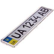 ELIT UNIPHC55055 Рамка номера нерж. РНС-55055 с сеткой