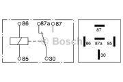 Bosch  Реле, рабочий ток; Реле