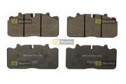 STARLINE SBDT007 Дисковые тормозные колодки без РМК DAF, MAN, 29088/29285 WVA