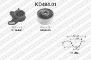 SNR SNRKD48401 Комплект ремня ГРМ