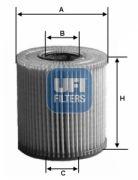 UFI 2515900 Масляный фильтр