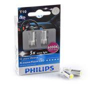PHILIPS PHI129666000KX2 Автомобильная лампа: 12 [В] T10 X-treme Ultinon LED 1W цоколь W2.1 x D9.5 6 000K Белый