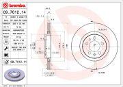 Brembo  Тормозной диск