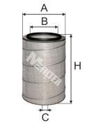 MFILTER A152 Воздушный фильтр