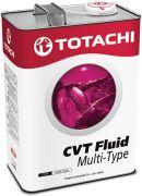 TOTACHI  Трансмиссионное масло Totachi ATF CVT Fluid Multi-Type (PAO) /4л./
