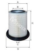 MFILTER A587 Воздушный фильтр