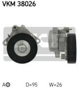 SKF VKM38026 Натяжной ролик, поликлиновой  ремень