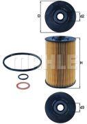KNECHT OX150D1 Масляный фильтр