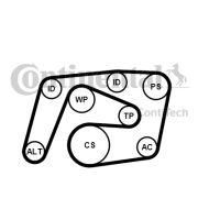 CONTITECH 6PK2260K1 Поликлиновой ременный комплект