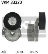 SKF VKM33320 Натяжной ролик, поликлиновой  ремень
