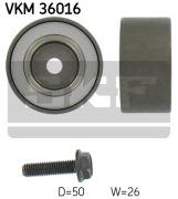 SKF VKM36016 Паразитный / ведущий ролик, поликлиновой ремень