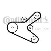 CONTITECH 6PK1153K2 Поликлиновой ременный комплект