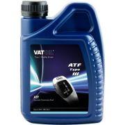VATOIL VAT221DIII Масло трансмиссионное VATOIL  ATF type III 1L (Dexron III, MB 236.9, Mercon), красная