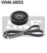 SKF VKMA68001 Поликлиновой ременный комплект
