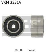 SKF VKM33314 Паразитный / ведущий ролик, поликлиновой ремень
