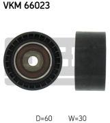 SKF VKM66023 Паразитный / ведущий ролик, поликлиновой ремень
