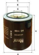 MFILTER AD1100 Фильтр влагоотделителя