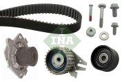 INA 530062430 Водяной насос + комплект зубчатого ремня