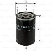 BOSCH F026407210 Масляный фильтр