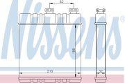 NISS NIS72660 Печка OP ZAFIRA A(99-)1.6 i 16V(+)[OE 1618 142]