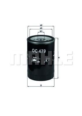 OC479 KNECHT Масляный фильтр на LDV