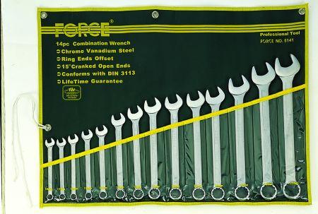 FORCE FOR5141 Набір ключів комбінованих 10,11,12,13,14,17,19,21,22,23,24,27,30,32мм купить недорого